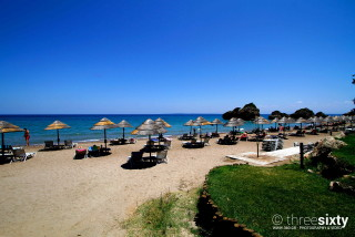 vassilikos alegria villas organized beach