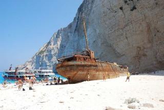 zakynthos alegria villas shipwreck