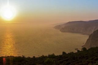 zakynthos alegria villas sunset